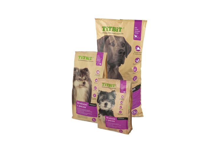 Сбалансированный сухой корм TiTBiT для собак