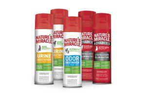 Nature's Miracle Аэрозоль – пены от пятен и запахов животных