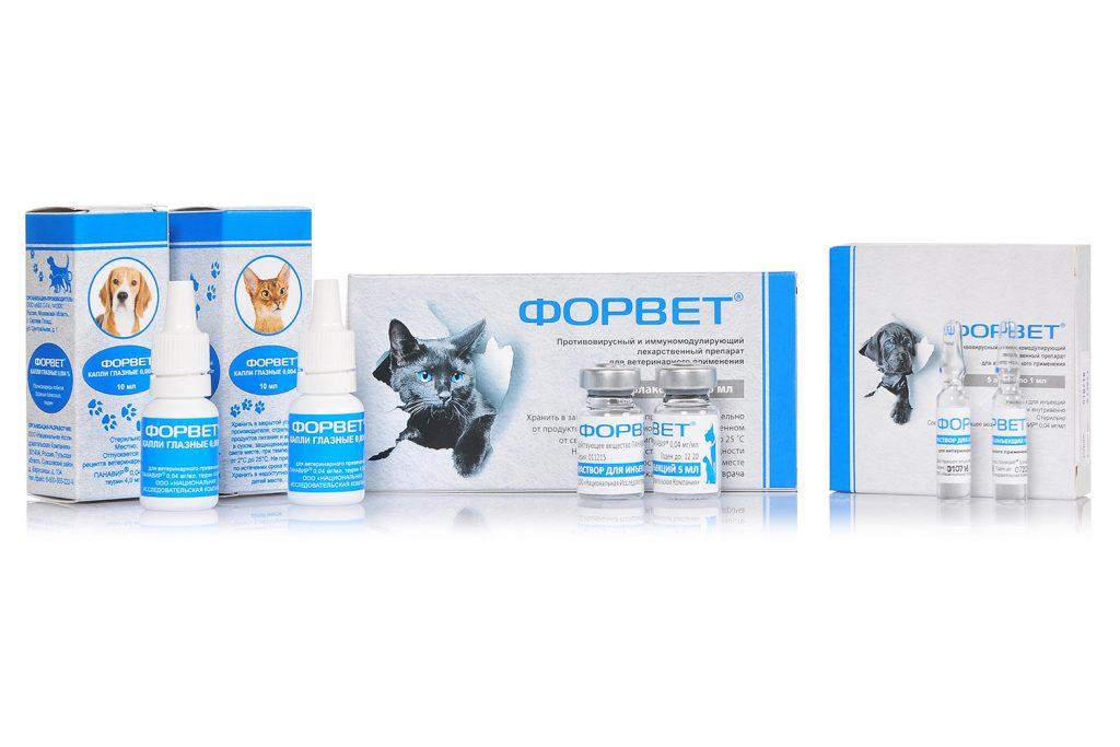 Форвет - инновационный ветеринарный препарат растительного происхождения, обладающий противовирусным и иммуномодулирующим действиями